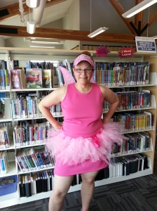 The Pink Fairy was at the Logan Lake Library on May 14th, 2015.