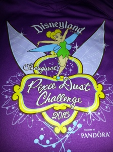 Pixie Dust Challenge shirt