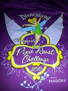 Pixie Dust Challenge shirt