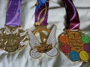 Pixie Dust Challenge medals