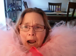 in pink tutu hell - prepping for the Disney Tinkerbell Half Marathon