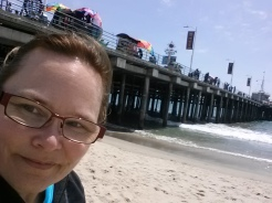 2015-05-11 Santa Monica Beach - post trapeze school