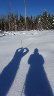 our shadows like the fresh air too