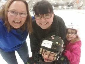 skating selfie