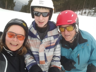 ski lesson