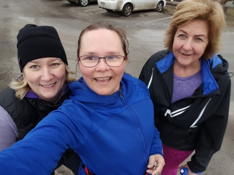 Tomena, me, and Jody - 9K done