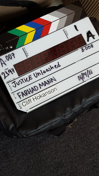 On set - Justice Unleashed